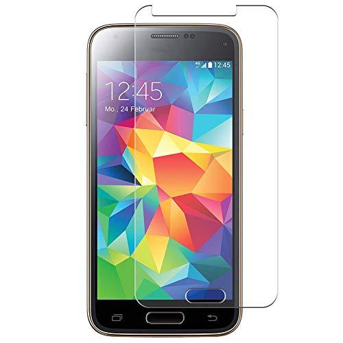 Vaxson 4 Unidades Protector de Pantalla Anti Luz Azul, compatible con Samsung Galaxy S5 mini / G870a G870W SM-G800 [No Vidrio Templado] TPU Película Protectora