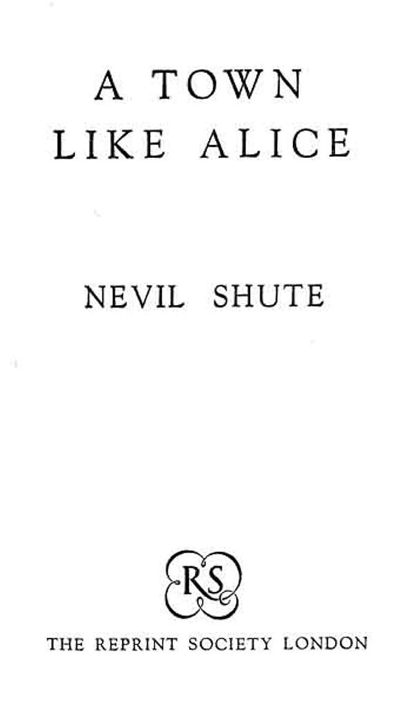 内側基礎理論暖かさA Town Like Alice [The Legacy] (English Edition)