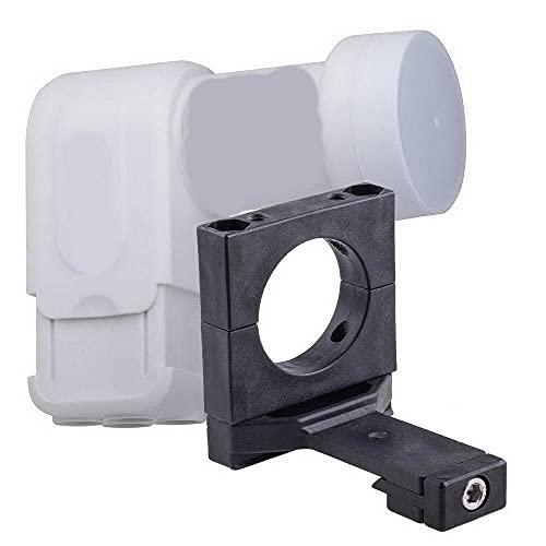 Für Nachrüstung von Kathrein - Spiegeln: Dur-line +Ultra Quad LNB 0,1 dB + LNB Adapter für Kathrein Spiegel; Neuste LNB-Generation mit LTE/DECT-Filter; für direkten Anschluss