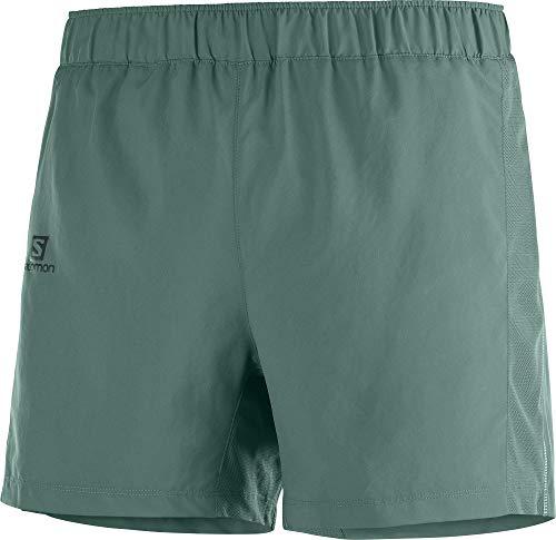 SALOMON Agile 5'' Short Pantalón Corto, Hombre, Balsam Green, 2XL