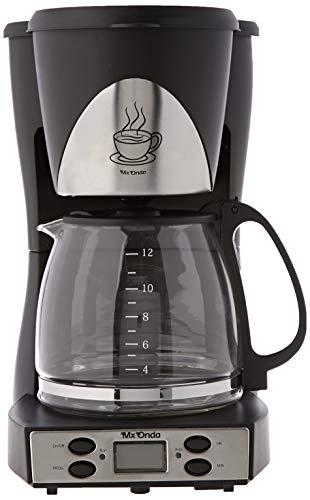 Mx Onda MX-CE2258 Macchina per il caffè con timer, colore: nero