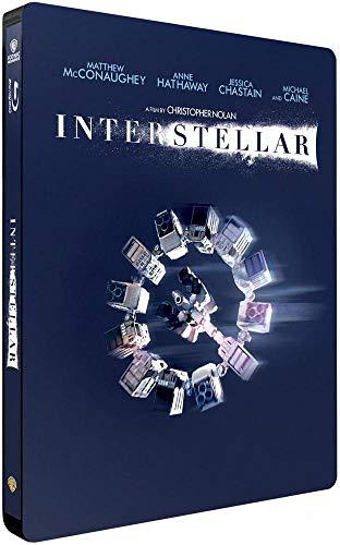インターステラー ブルーレイ2枚組 数量限定スチールブック デザイン特別仕様 [リージョンフリー 日本語収録](輸入版)