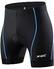XGC Fietsonderbroek voor heren, fietsbroek met elastische ademende 4D gel zitkussen met een hoge dichtheid