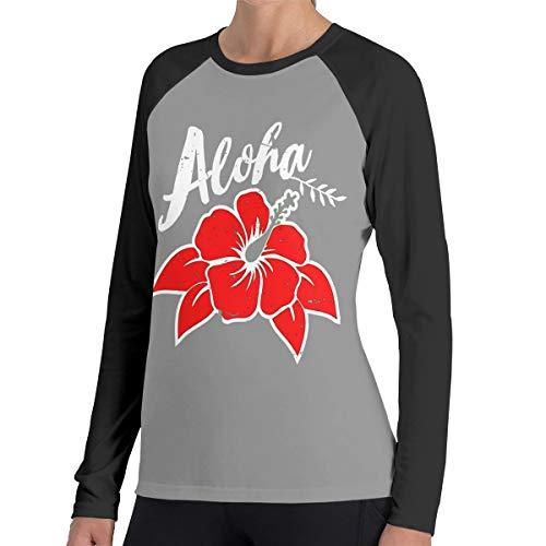 Kleine bestellingen Online Winkel Vrouwen Raglan Zachte Kleur Blok Baseball Lange Mouw Trui Tuniek Top T-Shirts Klassieke Blouses Top Tee