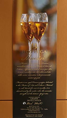 Bottega Maestri Grappa Invecchiata da Prosecco in Karaffe 1 x 0,7 Liter - 4