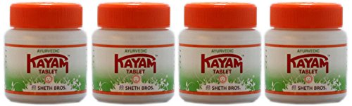 Kayam tablet 30 (Pack of 4)(Ship from India)