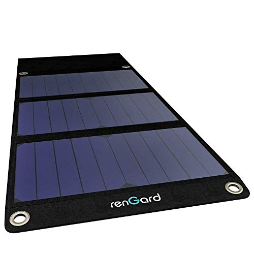 Solar Panel Charger - Best Solar Accessories - Camping Gear - Travel Accessories Pack - Backpack USB Portable for Cell Phone - iPhone 11 PRO Xs XS Max XR X 8 7 Plus iPad Samsung Galaxy (Black)