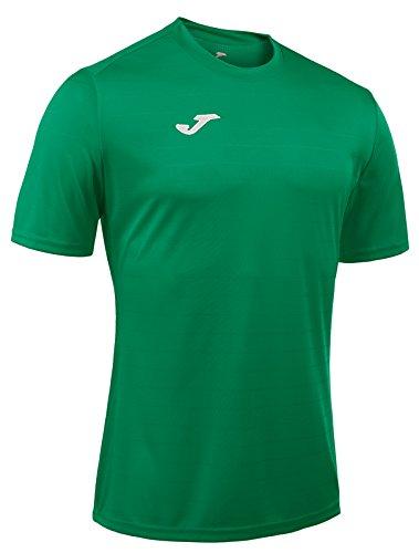 Joma Campus II Camiseta de Juego Manga Corta, Hombre, Verde, 2XS