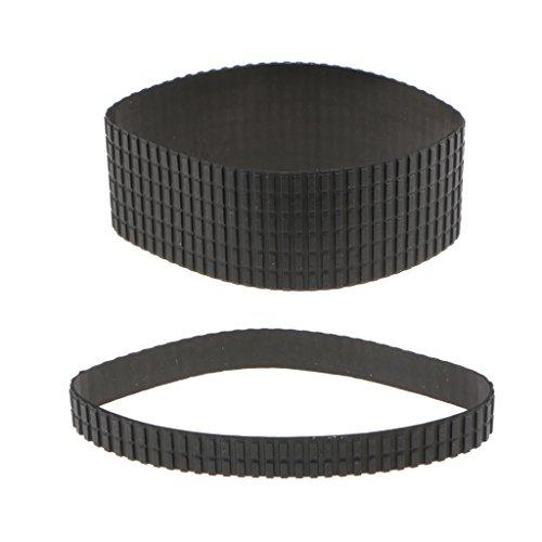 balikha Anillo de Goma de Agarre con de Lente de Plástico Negro + Reparación de Enfoque para Tamron 24-70 Mm F 2.8