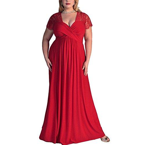Vestidos Mujer Verano 2019 Casual con Cuello Redondo de Moda para Mujer Tallas Grandes del Color Sólido Blusa Suelta con Bolsillo