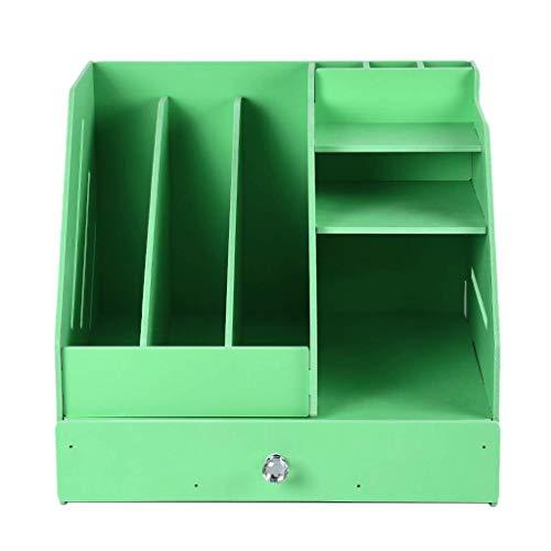 Z-SEAT Boîte d'organisateur de Papeterie de Bureau à usages Multiples avec Support de Livre de fichier de Document et Support de tiroir de Porte-Stylo