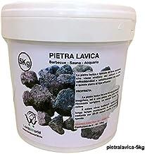 LordsWorld - Pietra Lavica - 5Kg Pietra Lavica para la Barbacoa, Sauna y decoración del Acuario - Roca de la Lava para la Barbacoa y el Gas Estufas - Pietralavica-5kg