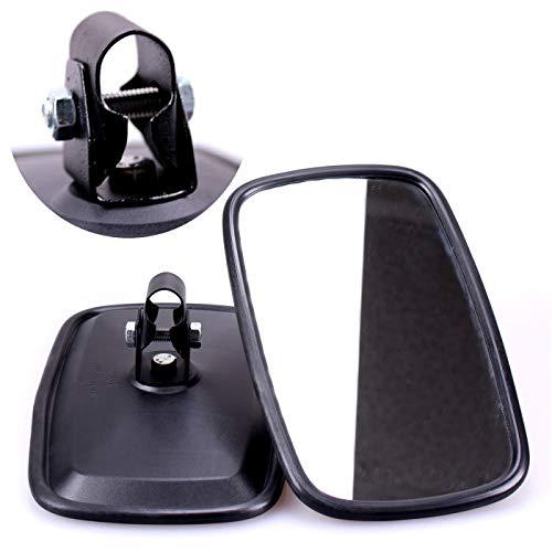 Juego de 2 espejos retrovisores universales TRUCK DUCK® 235 x 145 mm para tractor, excavadora, camión, autocaravana
