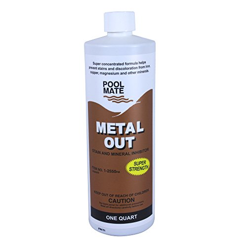 Pool Mate Metal Out Sequestrant and Stain Remover – 1 qt.