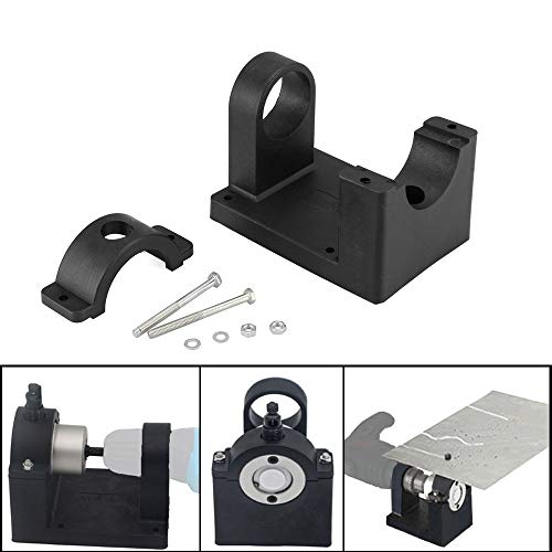 Purchase QISF Positioning Bracket Double Head Sheet Metal Nibbler Hole Saw Cutter Drill Tool Holder ...