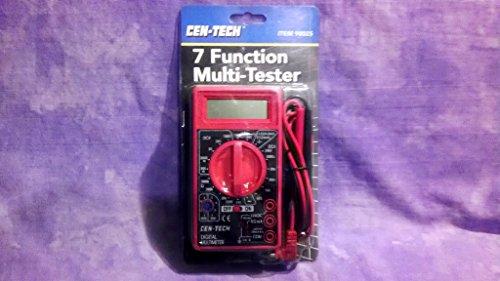 Digital Amp Ohm Volt Meter AC DC Voltmeter Multimeter 7 Function (2 PACK)