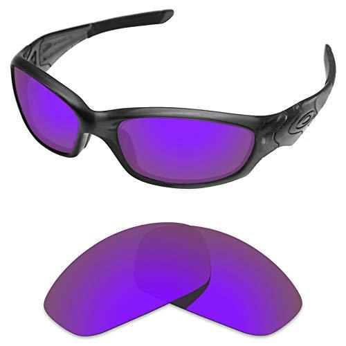 sunglasses restorer sunglasses restorer Wechselgläser für Oakley Straight Jacket 2.0 (Polarized Purple Mirror Linsen)