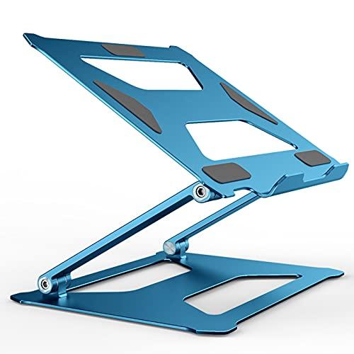 TBYGG Soporte Portátil,Ajustable Soporte Portatil Mesa para Computadora Portátil con Ventilación de Calor,Compatible con MacBook Air/Pro,DELL,HP,Lenovo,más computadoras portátiles de 11-17'