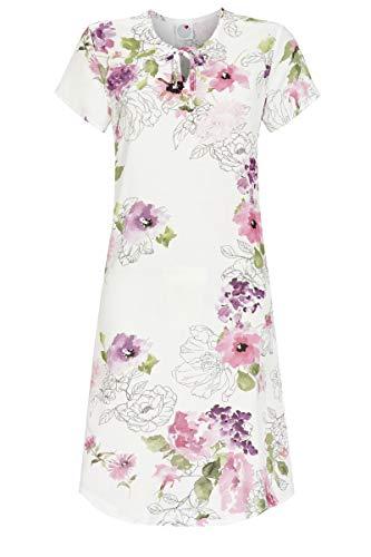 La plus belle Damen Nachthemd mit Blumendessin bunt 38 1286003, bunt, 38
