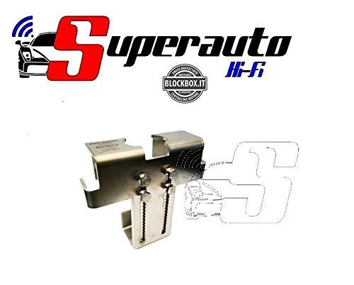 Preisvergleich Produktbild SM01 Steel Monster Block Box verstärkter Edelstahl Schutz Auto Diebstahlsicherung Steuereinheit