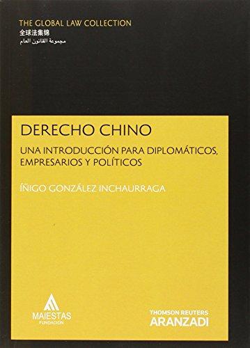 Derecho Chino: Una introducción para diplomáticos, empresa