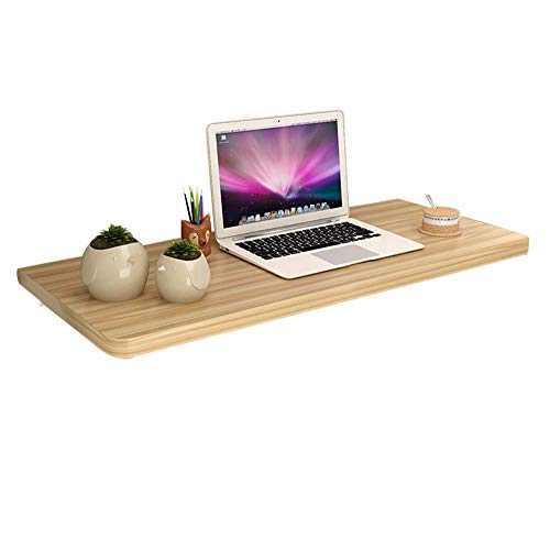 Wand-Stehtisch Schreibtisch, Laptopständer Schreibtisch Ausklappbarer Wandschreibtisch, Schreibtisch-Einfacher Esstisch aus Metall, Multi-Color und Multi-Size, BOSS LV, b,