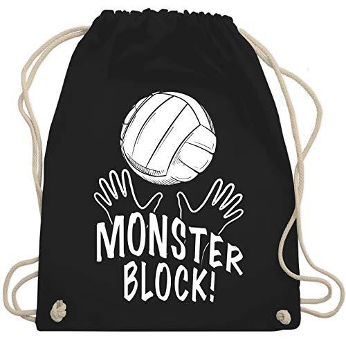 Cotton Bag Volleyball-Black