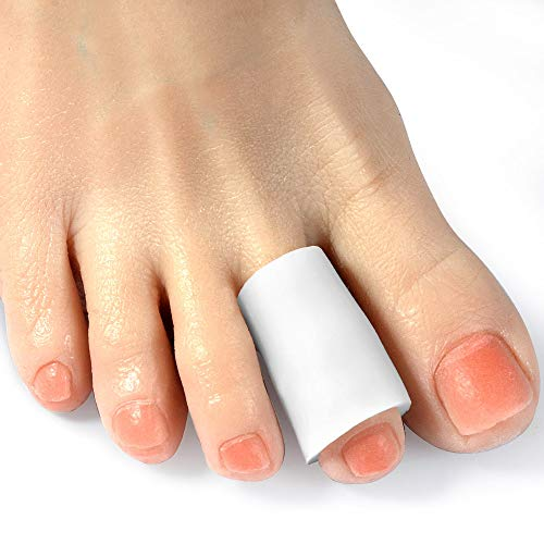 Gel Toe Sleeves, Toe Protectors5 Pairs/Pack for Middle Toe & Finger Cover,for Corns Remover, Callus Cushion, Bunion Treatment