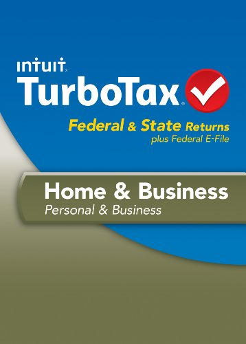 TurboTax Home and Business Mac Fed + Efile + State 2013 OLD VERSION