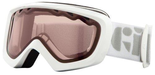 Giro Masque de Ski Chico pour Enfant Blanc/Rose Ambre/Motif Stencil Taille Unique