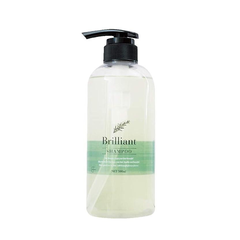 香り三十生きるブリリアント シャンプー500ml (Brilliant Shampoo) アミノ酸系 自然由来成分 疎水化 ヤシ由来 低刺激 サロン専売品 うるうる サラサラ