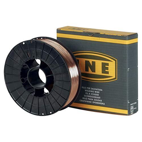 Alambre de soldadura acero 0.6mm–5kg–soldadura mig-mag semi-automatique-en Bobina de hilo de soudure-fil...
