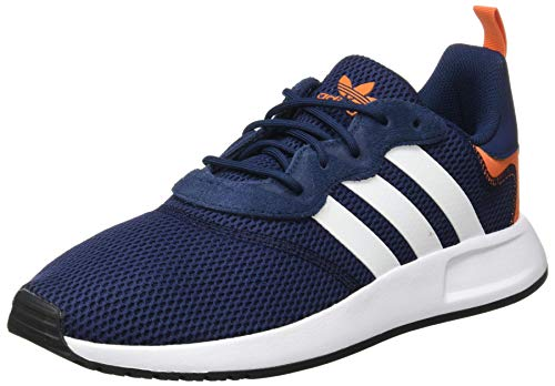 adidas Mens X_PLR 2 Sneaker, Collegiate Navy/Footwear White/Orange, 44 2/3 EU