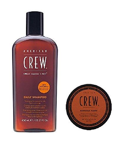 American Crew Daily Shampoo 450ml und Defining Paste 85g
