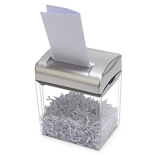WBYHGY Escritorio de Oficina Trituradora de Papel - de Alta Potencia eléctrica de los hogares Polvo de Papel Tarjeta Shredder