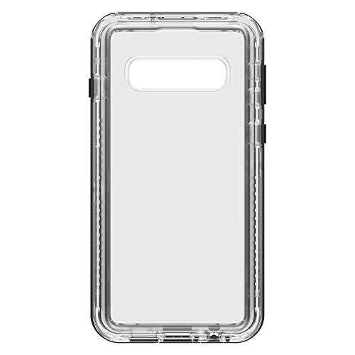 LifeProof per Samsung Galaxy S10, Custodia sottile resistente a cadute, polvere e neve, gamma Next , Trasparente/Nero