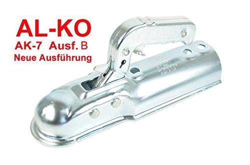 AL-KO AK7 Plus Ausf. B Rund 60 mm/ALKO Zugkugelkupplung Zugkupplung AK 7 Plus Ausf. B rund 60mm Rohr 750 kg 1367024