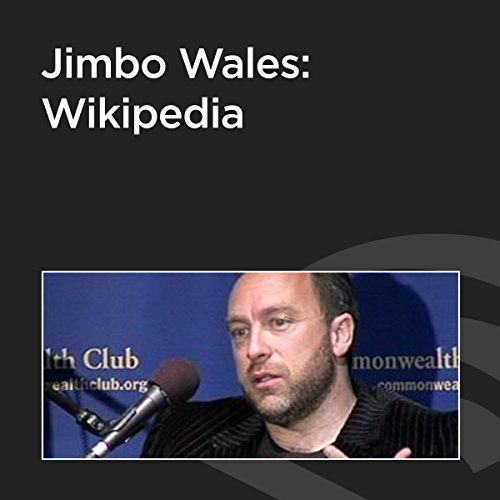 Jimbo Wales: Wikipedia cover art