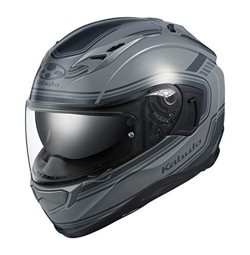 OGK KABUTO Motorcycle Helmet Full Face KAMUI3 CLASSIC (Classic) Gray (Size: M)