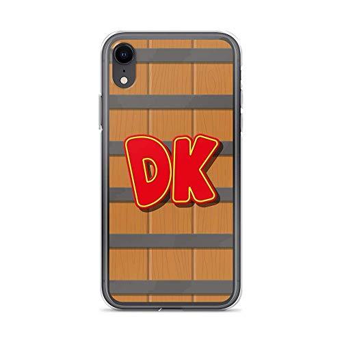 Flytoasky Cajas del Teléfono Transparente TPU Anti-Choques y Anti- Arañazos Funda para iPhone 6/6s Cover Donkey Kong Barrel