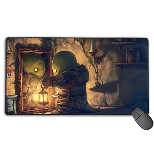 Angela R Mathews Final Fantasy XI-Tonberry Non-Slip Mouse Pad Rectangle Rubber Gaming Mouse Pad Anime Mouse Pad 30x15.7 Inch(75x40 cm)