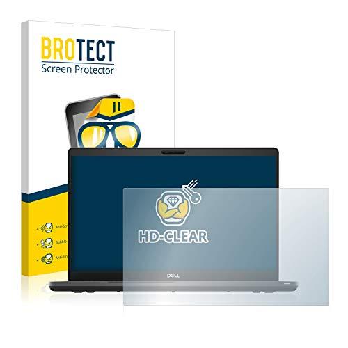 BROTECT Schutzfolie kompatibel mit Dell Latitude 5500 klare Bildschirmschutz-Folie