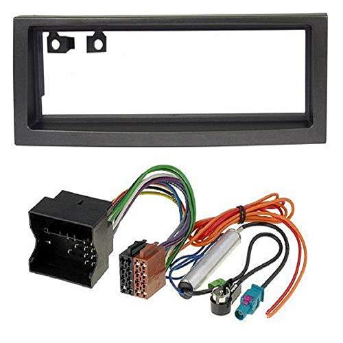 ADNAuto 45525 Kit Adaptateur Autoradio 1Din Noir /Citroen C5 05-08 + Iso + Fm-Kitfac168