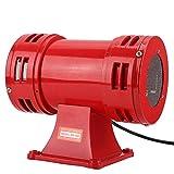 Altavoz de 10.000 rpm, bocina de alarma MS-490 de acero y aluminio rojo 150DB, para grúas, barcos, sistemas de alarma contra incendios(220-240V)