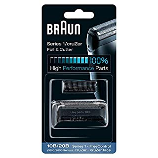 Braun Replacement Foil and Block, 1000 2000 For Free Control and Cruzer Shavers (Packaging may vary) (B000WLU3YA) | Amazon price tracker / tracking, Amazon price history charts, Amazon price watches, Amazon price drop alerts