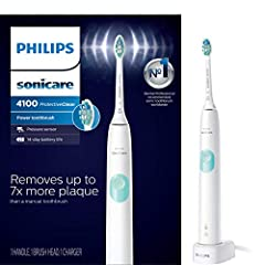 Gentle and effective care made easy with sonic technology that removes up to 7x more plaque vs a manual toothbrush Protect your teeth and gums with a pressure sensor that gently pulses to alert you when you're brushing too hard Always know when to re...