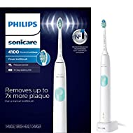 Philips Sonicare ProtectiveClean 4100 Rechargeable Electric Toothbrush Packaging May Vary, White, 1 Count