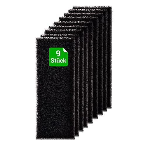 Juego de 9 filtros de espuma para secadora Whirlpool 481010354757
