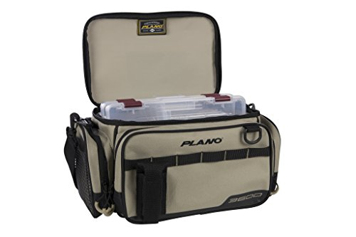 Plano PLAB36111 Weekend Series3600 Size Tackle Case, Tan, Premium Tackle Storage