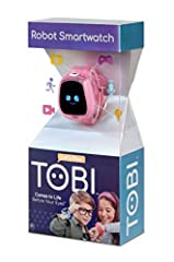 COMES TO LIFE BEFORE YOUR EYES. Tobi Robot Smartwatch has a playful personality, moving robot arms and legs, fun sound effects, and 100+ expressions that will keep kids giggling, dancing, playing, learning and more! A FULL FUNCTION SMARTWATCH. Helps ...